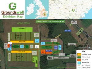Groundswell Exhibitor Map 2020