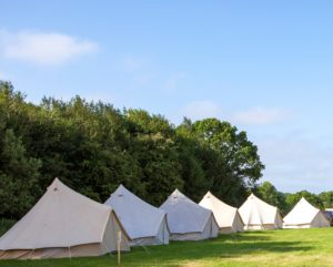 Glamping at Groundswell